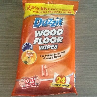 Wood and laminate floor wipes 24pack