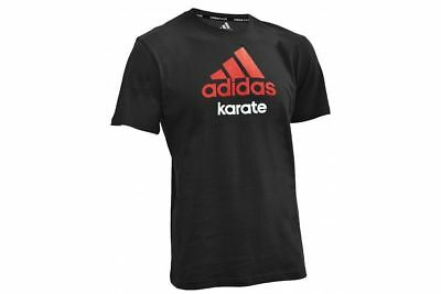 Special Offer - Adidas Kids Karate T-Shirt RRP £19.99 NOW £5.99 Black/Red