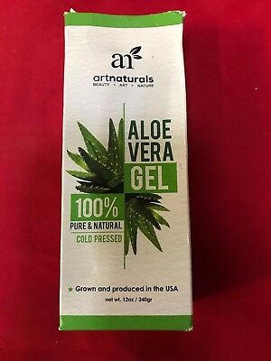 Art Naturals Aloe Vera Gel For Face Hair Body