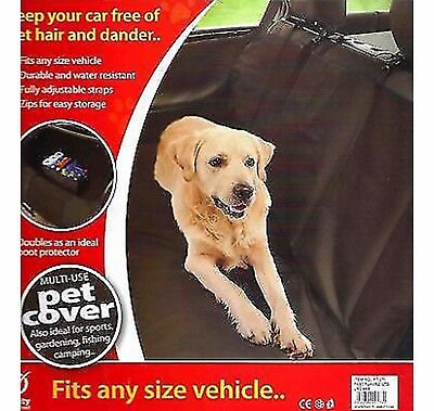 New 2 In 1 Waterproof Car Rear Back Seat Cover Pet Dog  Mat Liner Protector Boot