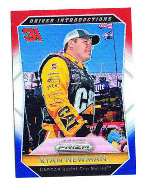 Ryan Newman 2016 Prizm Racing, Driver Introductions, White & Blue Prizm !