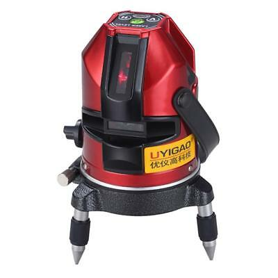 New Professional Automatic Self Leveling 5 Line 1 Point Laser Level Measure
