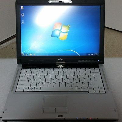 Fujitsu laptop tablet T900 Core i5 2.4GHZ 4GB 160GB touch Screen Windows 7 pro