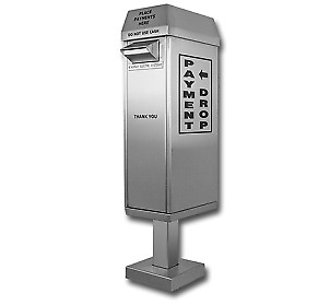 Drive Up Stainless Steel Payment Box, DSS-PB