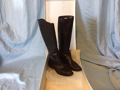 Great Sudini Anna Calf Brown Chocolate Leather Fashion Boots size 6 M