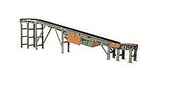 """Stairway Conveyor With 36"""" Belt and 42"""" OAW, 350SBF20-36"""