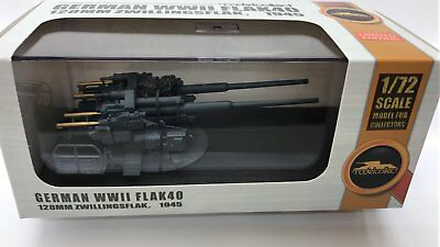 Top Modell Modelcollect  German 128 Mm Zwilli Ngs Flak 40  In 1/72 Fertigmodell