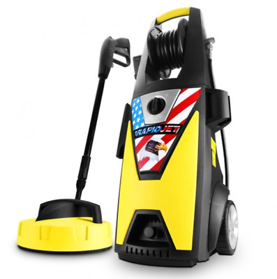 New RapidJet USA RJHPC1800 1.8kW 2500PSI High Water Pressure Washer Cleaner