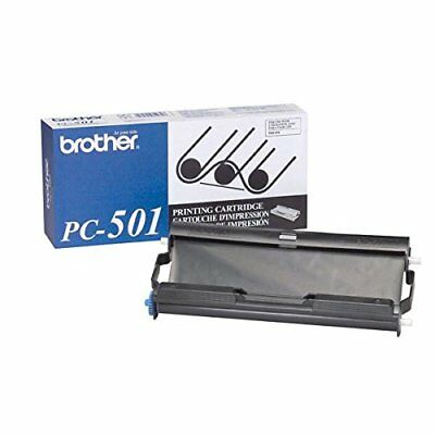 PC 501 Thermal transfer cartridge, Black (Brother)