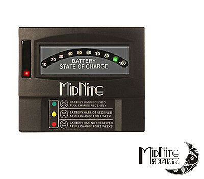 Midnite Solar MNBCM Battery Capacity Meter Auto-sensing for 12, 24, 36, & 48 V