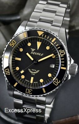 new squale y1545 20 atmos militaire watch warranty swiss made