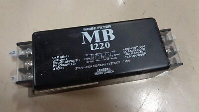 Nemic-Lambda Mb1220 Noise Filter 250V Used Nice E3