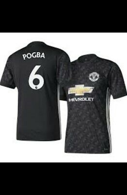 Brand new Adidas Mens Manchester United 2017/18 shirts with tags with player