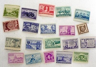 Lot Of 20 Unused U. S. Mint 3 Cent Stamps