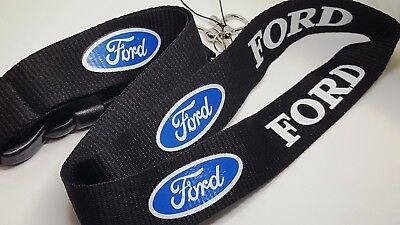 FORD Car Logo Lanyard Strong Neck Strap Key Holder High Quality [LYD]