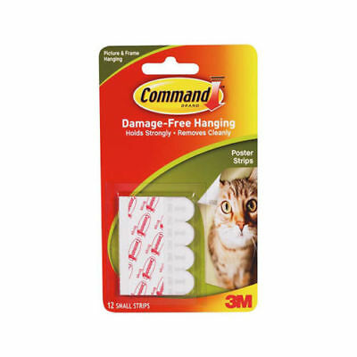 New 3M Command Strips Adhesive Strong Poster Photo Picture Hangers Secure Cheap