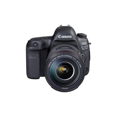 Canon EOS 5D Mark IV Digital Camera with Canon EF 24-105 f/4 IS II USM Lens Kit