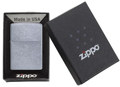 Zippo Street Chrome Windproof Lighter #207 New