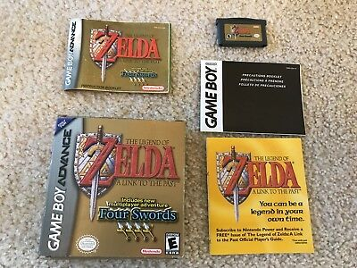 Legend of Zelda:A Link to the Past (Nintendo Game Boy Advance, 2002)GBA COMPLETE