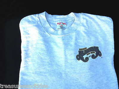Alabama Country Music Vintage Official Fan Club T-Shirt Grey Gold XXL 1997 Tee
