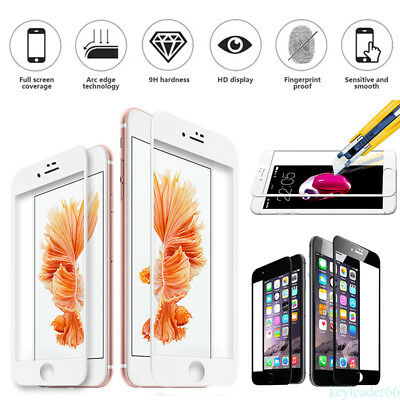 For iPhone SE 5 6s 7 Plus Premium Screen Protector Real Tempered Glass Film M8G