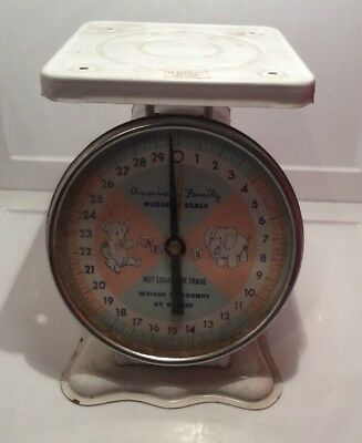 American Family Nursery Scale Vintage