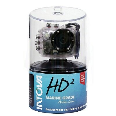 Intova HD2 Waterproof  Underwater Camera 8MP Action Camera with Built-In Light