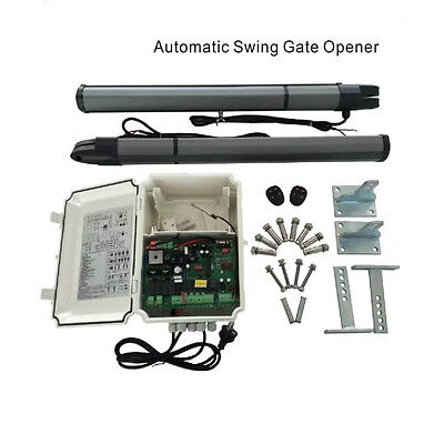 200KG 2Meter Dual Arm Electronic Automatic Swing Gate Opener Motor DC12V