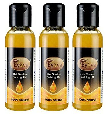 Hair Growth Nutrient With Egg Oil- Eyova Hair Nutrient - Tri Pack (3 x 50 ML)