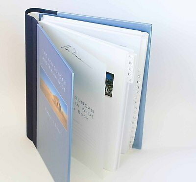 AUSTRALIA WIDE The Ken Duncan ADDRESS BOOK Panorama Photos on Each Page Like NEW