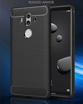 For Huawei Mate 10 Pro Shockproof Silicone Hybrid Soft Bumper TPU Case Cover