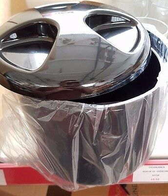 Ice Bucket, 4ltr and 5ltr, Round and Square. Black