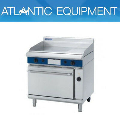 Blue Seal GPE56 900 mm Gas Griddle Electric Convection Oven Range