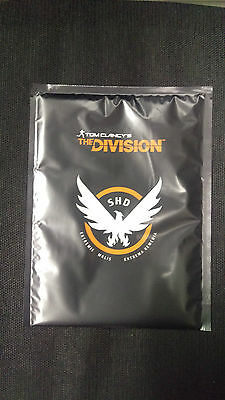 Tom Clancy The Division: Plakat von Sammleredition Sleeper Agent NEU