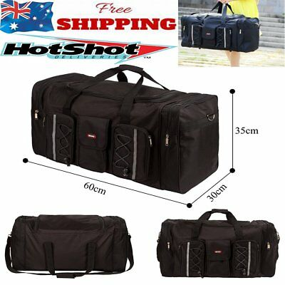 Sports Bag Large Capacity With Shoulder Strap Gym Duffle Travel Water Resistant