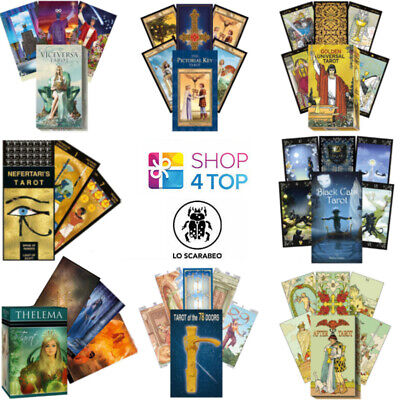 Lo Scarabeo Tarot Cards Deck Esoteric Fortune Telling New