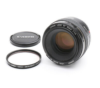 Canon EF 50 mm 1.4 USM + TOP (217233)