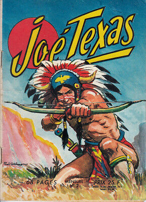 Joe Texas N° 2 De 1958 Collection Les Belles Aventures