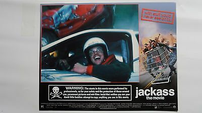 SET OF 8 LCs JACKASS The Movie Johnny Knoxville, Bam Margera, Chris Pontius #U41