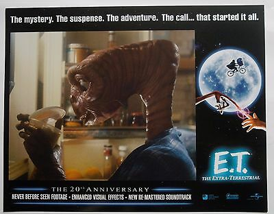 SET OF 8 LCs E.T. The Extra-Terrestrial - The 20th Anniversary  #U42