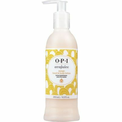 OPI Avojuice Skin Quenchers Hand & Body Lotion ~ MANGO 250ML ~