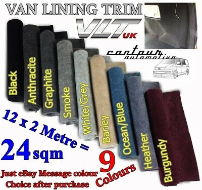 24 Sqm Camper Van Campervan Carpet Lining Trim Caravan Motor Home Race Car Day