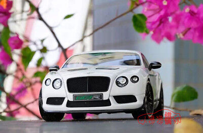 Almost Real 1:18 Bentley Continental GT3-R Die Cast Model White