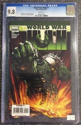 World War Hulk #1 (2007) CGC 9.8 - not CBCS