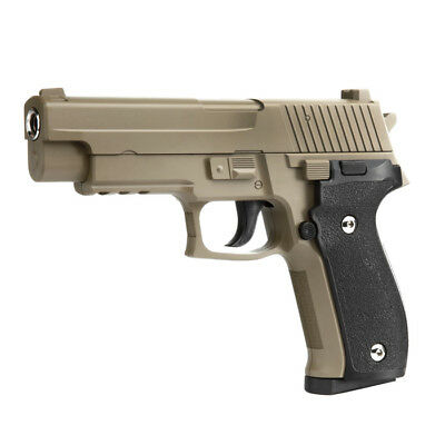Galaxy G26 P226 Vollmetall Springer 6mm BB Flat Dark Earth Airsoft Softair