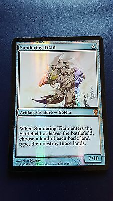 1x FOIL SUNDERING TITAN - Rare - From the Vault- MTG - NM - Magic the Gathering