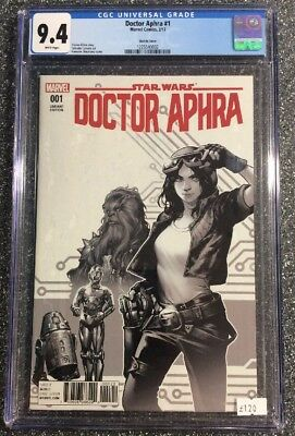 Star Wars: Doctor Aphra #1 (2017) CGC 9.4 - not CBCS Variant Sketch Cover