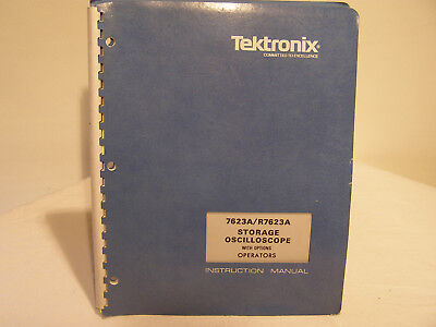 Tektronix Storage Oscilloscope 7623A/R7623A  With Service Instruction Manual