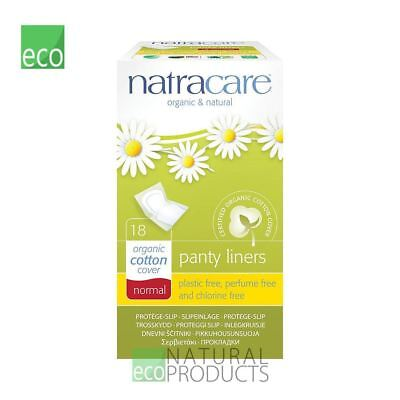 Natracare Organic Normal Wrapped Panty Liners 18 pcs