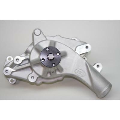 PRW Water Pump 1439000; Satin Aluminum Mechanical for Ford 352-428 FE